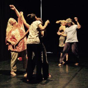 Performance workshop dancers